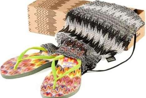 Eco-Friendly Designer Flip-Flops