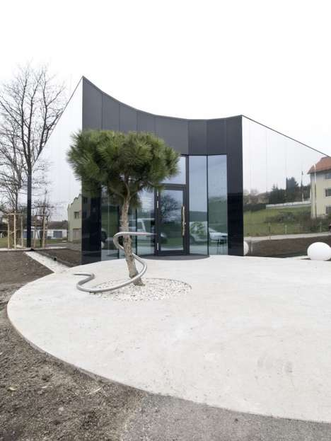 Mirrored Medical Buildings