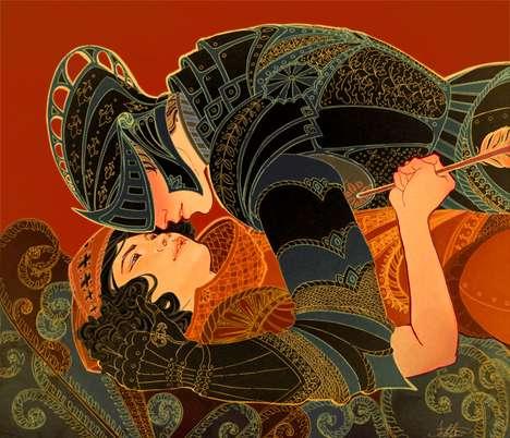 Culturally Melded Fantasy Art