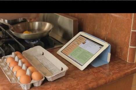 Low-Tech Tablet Holders