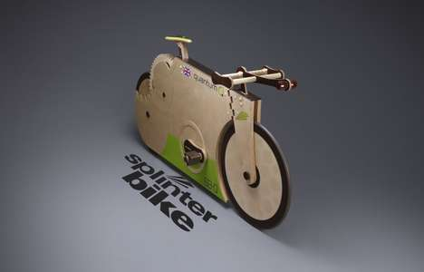 Totally Timber Two-Wheelers