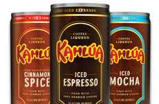 Convient Coffee Cocktails - Get Energized With the New Kahlua Cans-to-Go Bevarages