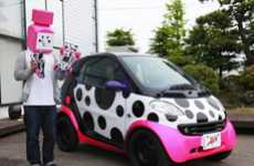 Dotted Designer Roadsters - The Jun Watanabe Smart Car Collaboration is Playful