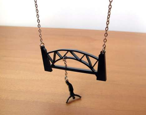 The milkool Bungee Jumping Extreme Necklace Takes a Plunge