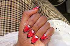 Claw-Inspired Designer Manicures - The Ruffian & MAC Nails are Frisky