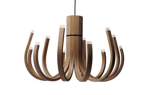Bowed Lumber Lighting