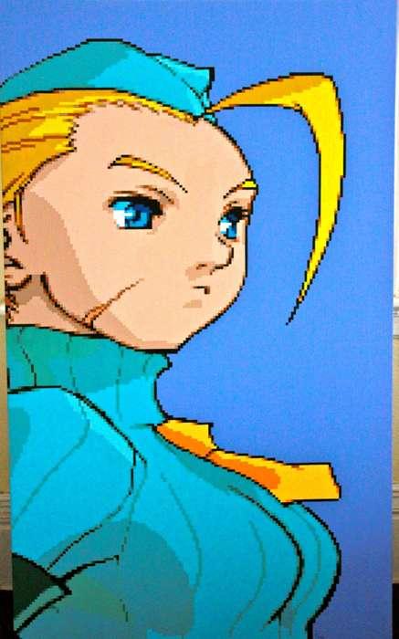 Video Game Pixel Paintings
