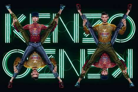 Electrifying Fashion Ads