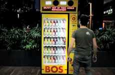 Tweet-Enabled Treat Dispensers - The BEV Twitter Vending Machine Trades Hash Tags for Iced Tea