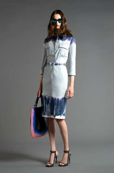 The Alberta Ferretti Resort 2013 Boasts an Artistic Vibe