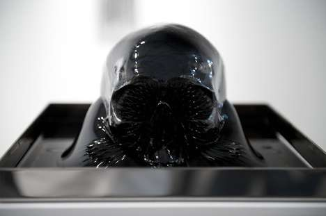 Macabre Ferrofluid Artworks