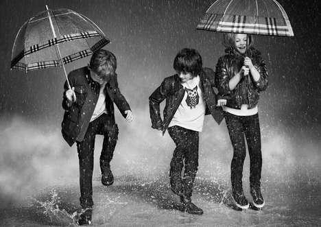 Raining Kidswear Ads