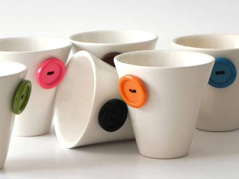 Colorful Toggled Teacups