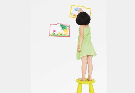 Display-Ready Sketchbooks