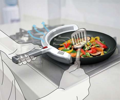 Purifi Pan by Hong Ying Guo Takes the Bad Air Straight off the Pan
