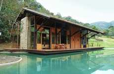 Magnificent Moat Mansions - The Cadas Architecture Itaipava Residence is Lavish and Rustic