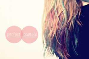 Dip-Dyed Design
