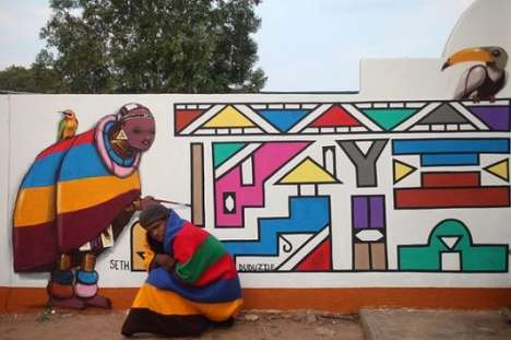 Local-Inspired Graffiti