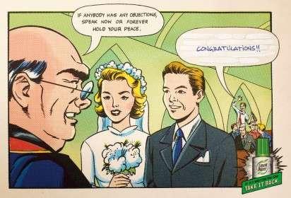 Corrected Comic Strip Ads