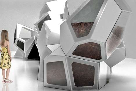 Interactive Architectural Terraria