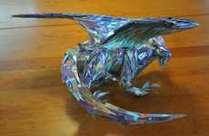 CD Shard Dragons - Redditor Amon-a-boat's Alduin the Data Eater is Inspired by Skyrim