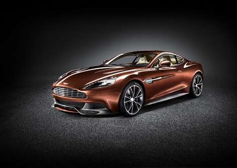 The 2013 Aston Martin AM310 Vanquish is Striking