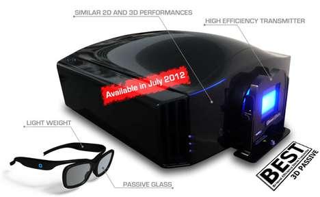 High-Contrast 3D Projectors
