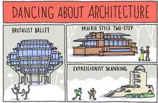 Quote-Inspired Illustrations - The Grant Snider 'Dancing About Architecture' Comic is Adorable