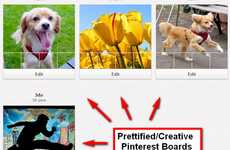 Streamlining Image Add-Ons - The Vitamin Cr Pinterest Tool Gives Users More Choice