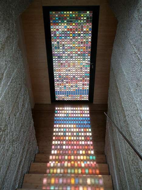 Multi-Hued Vibrant Entrances