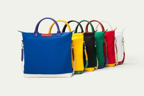 Sophisticated Athlete-Inspired Totes