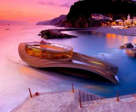 Futuristic Sustainable Seacrafts