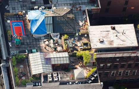 Tantalizing Rooftop Terrace Shots