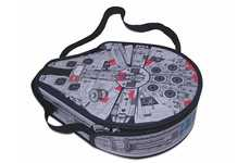 Spaceship Storage Satchels - The Millenium Falcon LEGO Messenger Bag Is a Clear Tribute to Star Wars