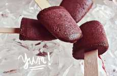 Red Wine Ice Pops