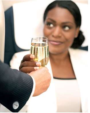 Booze Filled Flights - Passengers Get Complimentary Wine on British Airlines