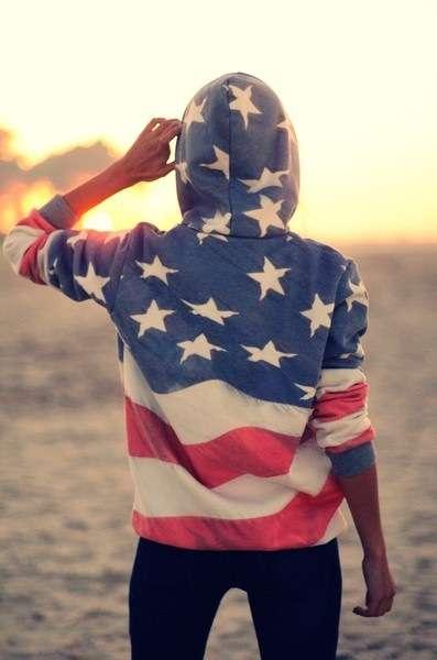 DIY Americana Sweaters