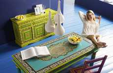 Vibrantly Painted Furniture