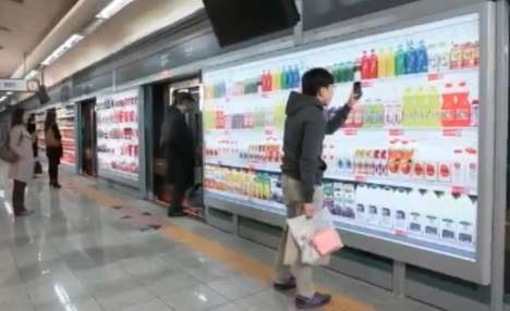 Virtual Subway Supermarkets - Homeplus Uses Clever Marketing Campaign to Become Number One