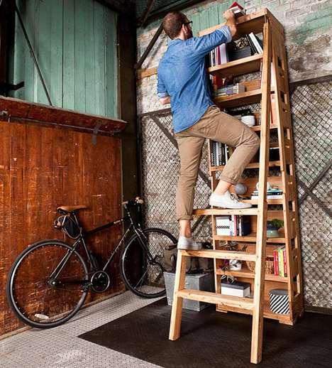 Built-In Hardware Shelves