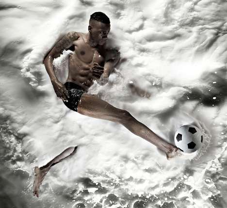 Splashy Sports Photography - This Atton Conrad Series is Kinetic and Well Produced