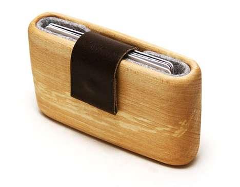 Minimalist Lumber Billfolds