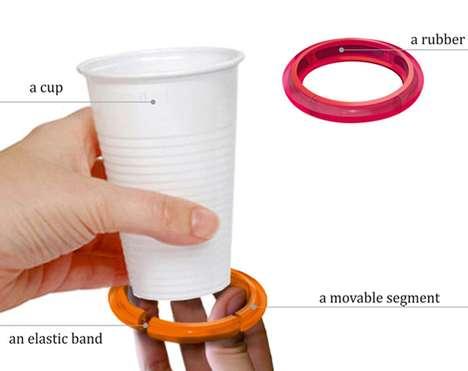 Spill-Free Beverage Holders