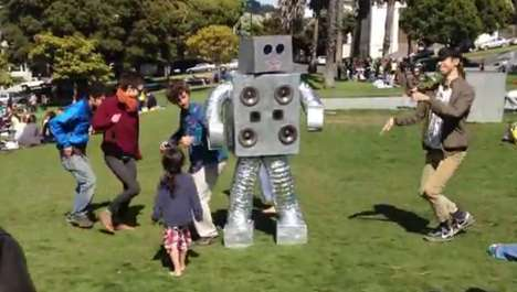 Robotic Rap Dancers