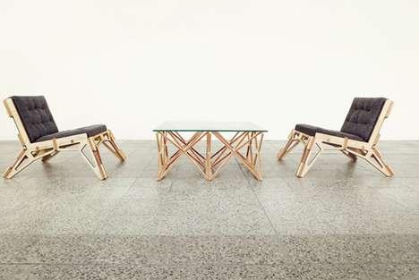 Skeletal-Framed Furniture Designs