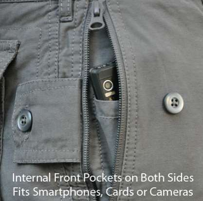 Anti-Theft Apparel - Clothing Arts' Pick-Pocket Proof Pants Offer High Security Style