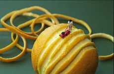 Microscopic Food Sculptures (UPDATE)