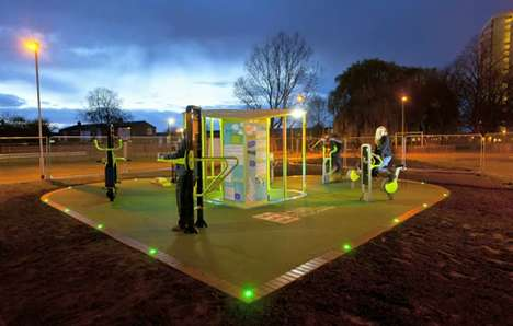Energy-Producing Playgrounds - TGO Green Energy Gym Technology Harnesses People-Power