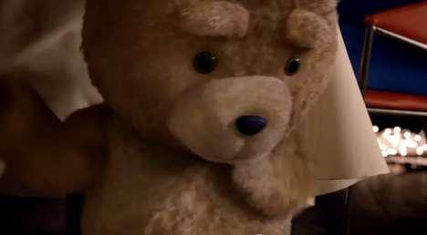 Cheeky Bear Hair Commercials