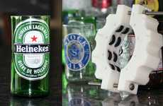 Beer Cup-Creating Tools - The Kinkajou Bottle Cutter Turns Any Empty Brew Into a New Mug or Vase